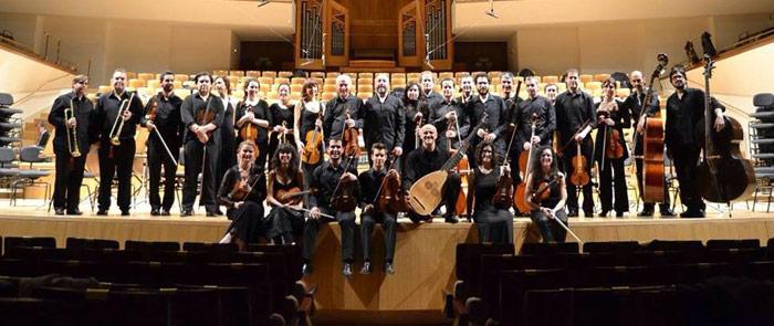 Éxito rotundo de la Orquesta Barroca de Granada en el Auditorio Nacional de Madrid